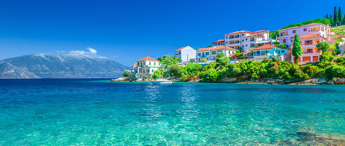 Kefalonia village